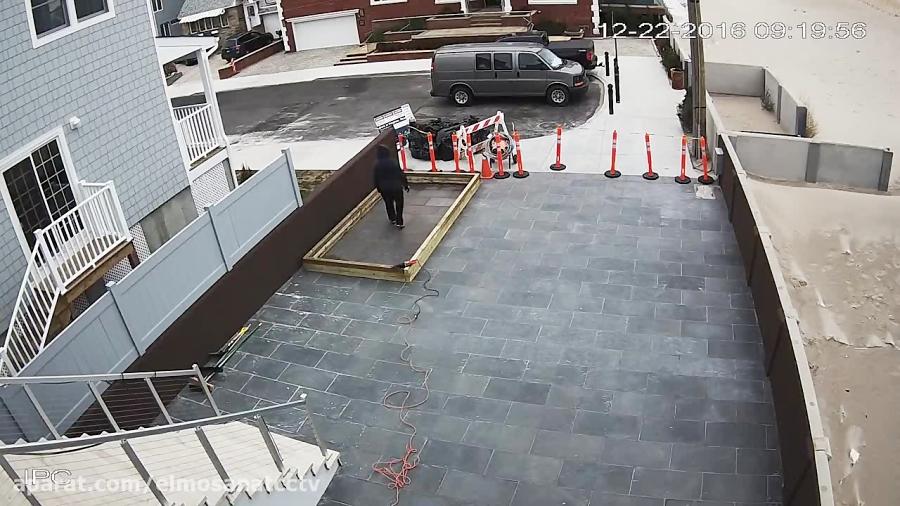 نمونه تصویر ضبط شده در دوربین داهوا HFW4421E